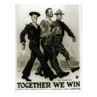 Recruitment poster 1915 postcard