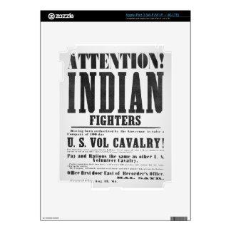 Recruitment poster for the U.S. Volunteer Cavalry, iPad 3 Skins