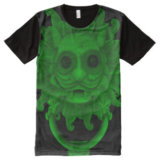 rect3028knocker s6 poster All-Over print t-shirt