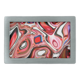 Rect Belt Buckle. Neural Abstractions Collection. Rectangular Belt Buckle