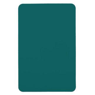 rect dark blue tribal african drawing plate.jpeg rectangular photo magnet