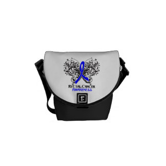 Rectal Cancer Awareness Butterfly Courier Bag