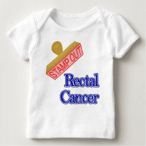 Rectal Cancer Baby T-Shirt