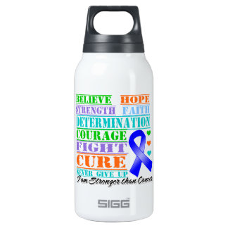 Rectal Cancer Believe Strength Determination SIGG Thermo 0.3L Insulated Bottle