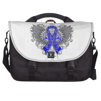 Rectal Cancer Cool Wings Laptop Bags