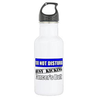 Rectal Cancer Do Not Disturb Kicking Butt 18oz Water Bottle