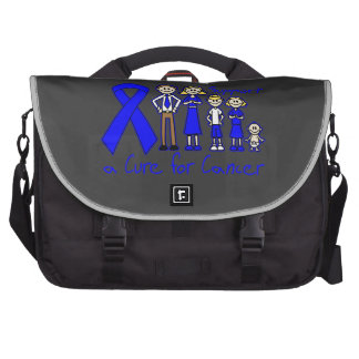 Rectal Cancer Family Support A Cure Laptop Bag