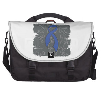 Rectal Cancer Fight Defy Win Computer Bag