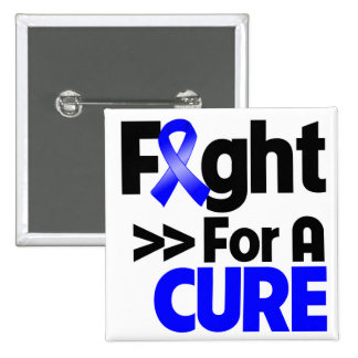 Rectal Cancer Fight For a Cure Pin