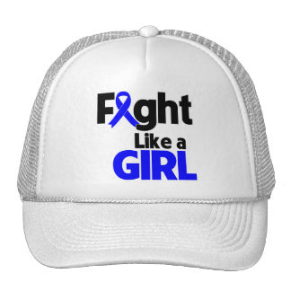 Rectal Cancer Fight Like a Girl Hat