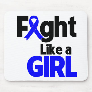 Rectal Cancer Fight Like a Girl Mouse Pad