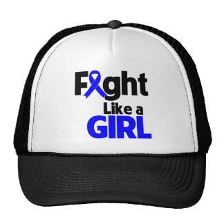 Rectal Cancer Fight Like a Girl Trucker Hats