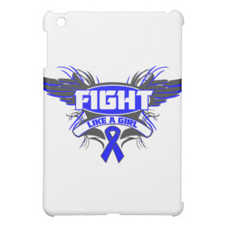 Rectal Cancer Fight Like a Girl Wings.png iPad Mini Case