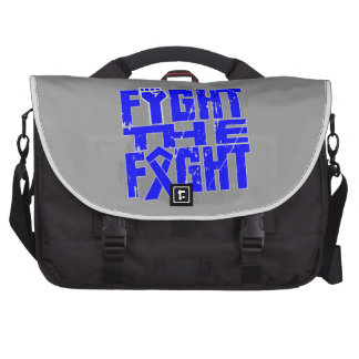 Rectal Cancer Fight The Fight Laptop Bags