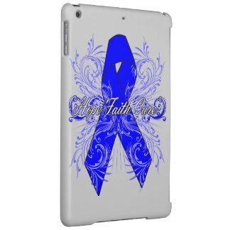 Rectal Cancer Flourish Hope Faith Cure iPad Air Cover