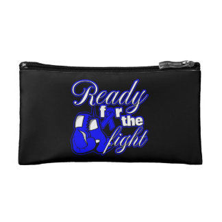 Rectal Cancer Gloves Ready For The Fight Cosmetic Bag