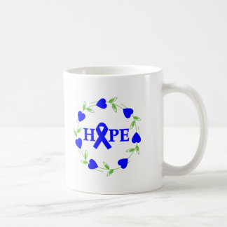 Rectal Cancer Hearts of Hope Mugs