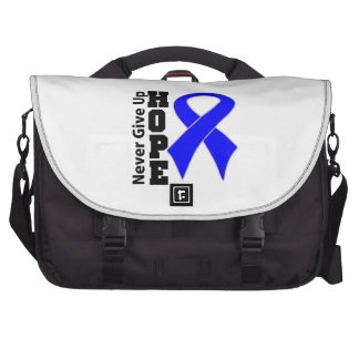 Rectal Cancer Hope Never Give Up Laptop Bags