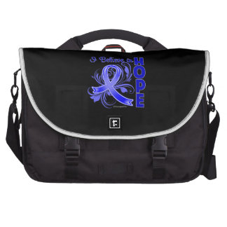 Rectal Cancer I Believe in Hope Commuter Bags