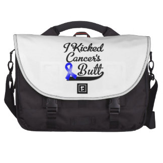 Rectal Cancer I Kicked Butt Commuter Bag