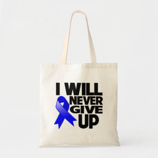 Rectal Cancer I Will Never Give Up Tote Bag