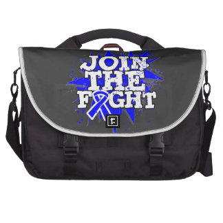 Rectal Cancer Join The Fight Laptop Computer Bag