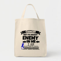 Rectal Cancer Met Its Worst Enemy in Me Tote Bag