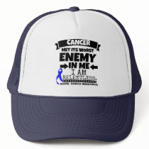 Rectal Cancer Met Its Worst Enemy in Me Trucker Hat