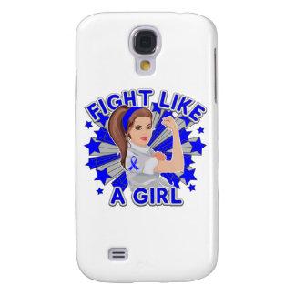 Rectal Cancer Modern Rosie Fight Galaxy S4 Cases