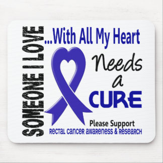 Rectal Cancer Needs A Cure 3 Mouse Mat