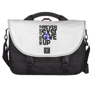 Rectal Cancer Never Ever Give Up Commuter Bags