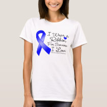 Rectal Cancer Ribbon Someone I Love T-Shirt