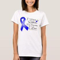 Rectal Cancer Ribbon Someone I Love T-Shirt