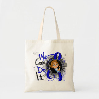 Rectal Cancer Rosie Cartoon WCDI.png Tote Bag