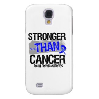 Rectal Cancer - Stronger Than Cancer Samsung Galaxy S4 Cases