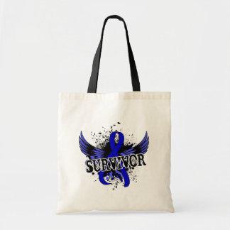 Rectal Cancer Survivor 16 Budget Tote Bag