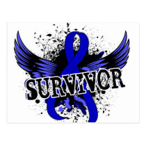Rectal Cancer Survivor 16 Postcard