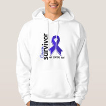 Rectal Cancer Survivor 19 Hoodie