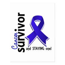 Rectal Cancer Survivor 19 Postcard