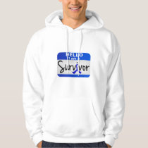 Rectal Cancer Survivor 24.png Hoodie