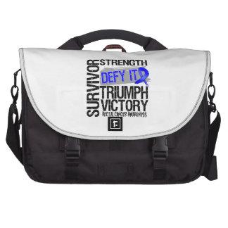 Rectal Cancer Survivor Defy It Laptop Commuter Bag