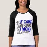 Rectal Cancer Survivor It Came We Fought I Won Tee Shirt
