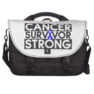 Rectal Cancer Survivor Strong Bag For Laptop