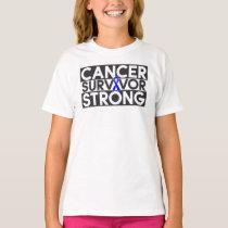 Rectal Cancer Survivor Strong T-Shirt