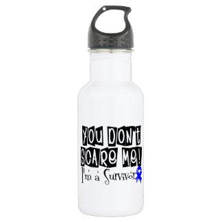 Rectal Cancer Survivor You Don't Scare Me 18oz Water Bottle
