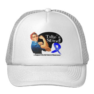 Rectal Cancer Take a Stand Trucker Hat