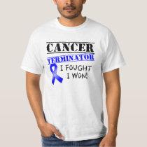 Rectal Cancer Terminator T-Shirt
