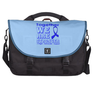 Rectal Cancer Together We Are Stronger Bags For Laptop