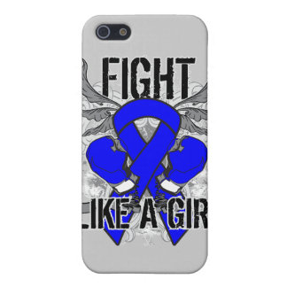 Rectal Cancer Ultra Fight Like A Girl iPhone 5 Case