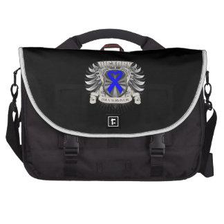 Rectal Cancer Victory Laptop Commuter Bag